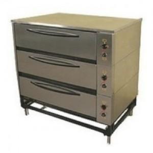 Шкаф жарочно-пекарский ЭШП-3с нержавеющая сталь