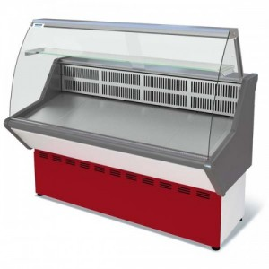 Витрина Нова ВХС 1,2 холодильная гнутое стекло