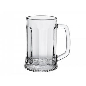 Кружка для пива 330 мл «Ладья» с гранями [09с1486]