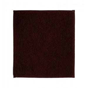 Салфетка махровая 30х30 см «Ошибори» коричневая хлопок комплект 10 шт