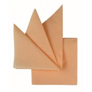Салфетки бумажные персик 240х240 мм 400 шт