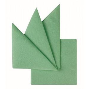 Салфетки бумажные салатовые 240х240 мм 400 шт