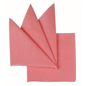 Салфетки бумажные розовые 240х240 мм 400 шт