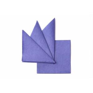 Салфетка бумажная синяя 240х240 мм 400 шт