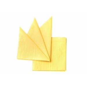 Салфетка бумажная желтая 330х330 мм 300 шт