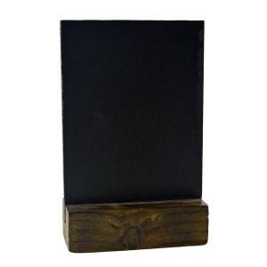 Меловая табличка А7 на деревянной подставке