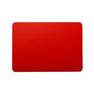 Меловой ценник А7 красный