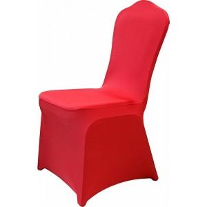 Чехол универсальный на стул из бифлекса цвет красный