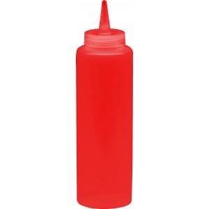 Диспенсер для бара красный (соусник) 250 мл [1742, 51721]