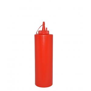 Диспенсер для бара красный (соусник) 375 мл [1740, 32098]