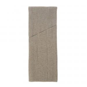 Куверт рогожка капучино на 3 столовых прибора правый цвет 01