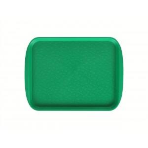 Поднос столовый 330х260 мм светло-зеленый