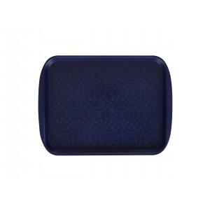 Поднос столовый 330х260 мм темно-синий