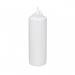 Бутылка для соуса белая (соусник) 700 мл
