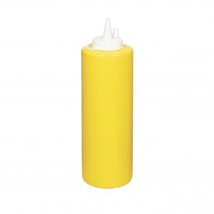Бутылка для соуса желтая (соусник) 700 мл