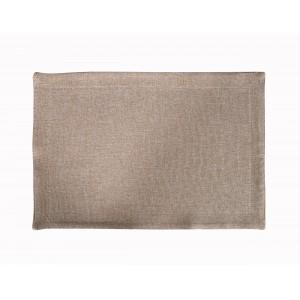 Плейсмет рогожка бежевый цвет 1 30х45 см