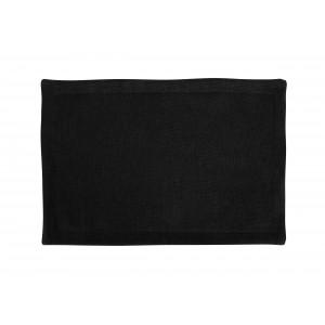 Плейсмет «Рогожка» 30х45 см, цвет чёрный