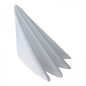 Салфетка 45х45 см «Журавинка» белая (гладь)