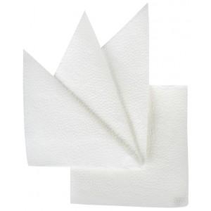 Салфетки бумажные белые 240х240 мм 100 шт