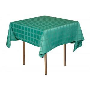 Скатерть 145х145 см «Журавинка» светло-зеленая (квадрат)