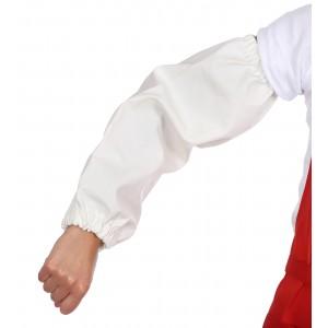 Нарукавники мясника белые влагозащитные ПВХ (в упаковке 2 шт.)