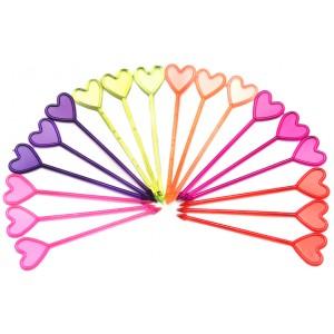 Пика декоративная «Сердца» 85 мм 250 шт