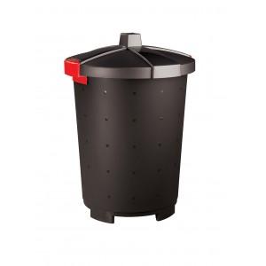 Бак для отходов с крышкой черный 45 л [460701681517,431253613]