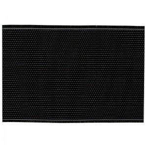 Коврик настольный 440х300х2 мм бамбук черный [3201023]