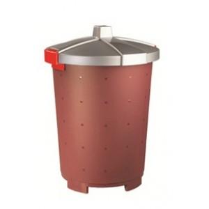 Бак для пищевых продуктов с крышкой 25 л [432106021]