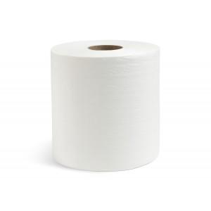 Полотенца вытяжные двухслойные белые 150 м в рулоне [NRB-250210]