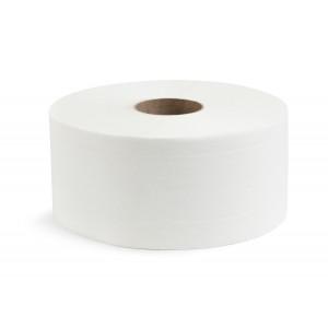 Туалетная бумага двухслойная 240 м белая [NRB-210216]