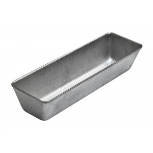 Форма хлебная алюминиевая литая тостерная 276х87х57 мм