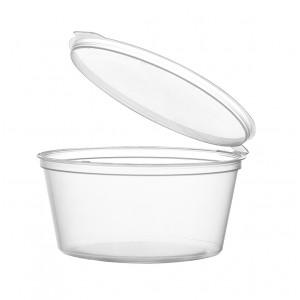Контейнер одноразовый для соуса с крышкой 50 мл (80 шт.) [ОП-150056]