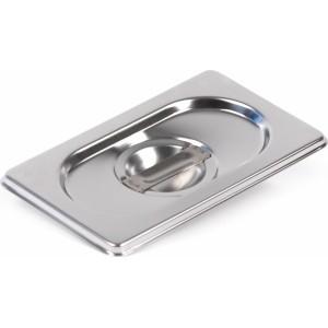 Крышка Luxstahl из нержавеющей стали для GN 1/9 [819-L]