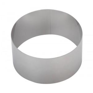 Форма для выпечки/выкладки «Круглая» Luxstahl диаметр 80 мм