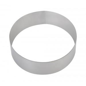 Форма для торта круглая Luxstahl 140 мм, нержавеющая сталь
