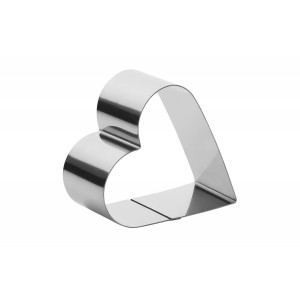 Форма для выпечки/выкладки «Сердце» 110 мм