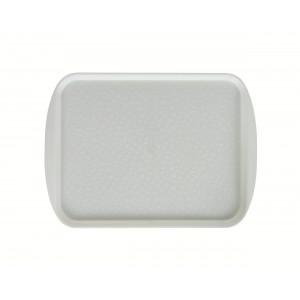 Поднос столовый 415х305 мм с ручками жемчужно-белый