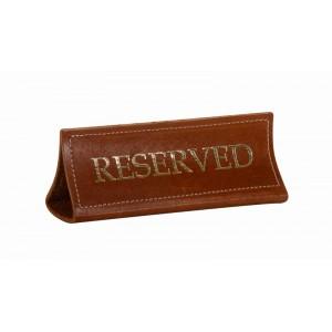Табличка настольная «Reserved» 180х70 мм