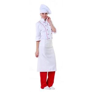 Фартук шеф-повара белый [00300]