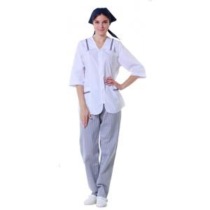 Куртка женская белая [0121]