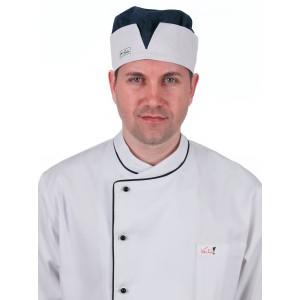 Шапочка повара синяя [031]