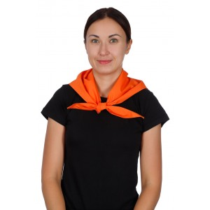 Косынка поварская оранжевая [020]