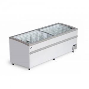 Ларь бонета BFG 1850 холодильно-морозильная с гнутым стеклом