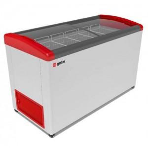 Ларь морозильный Gellar Фростор FG 575 Е гнутое стекло 6 корзин