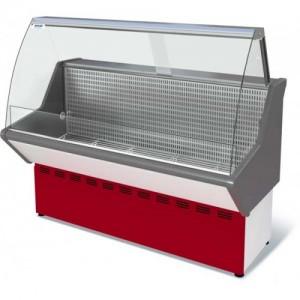 Витрина Нова ВХН 1,2 морозильная гнутое стекло