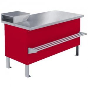 Прилавок холодильный среднетемпературный Мясной ПХС-1,55/0,85