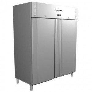 Шкаф Carboma R 1400 холодильный металлические двери