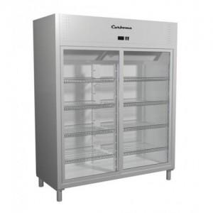Шкаф Carboma R 1400 K холодильный двери купе