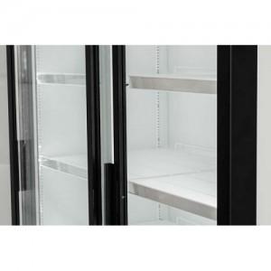 Шкаф Polair DM110Sd-S версия 2.0 холодильный двери купе